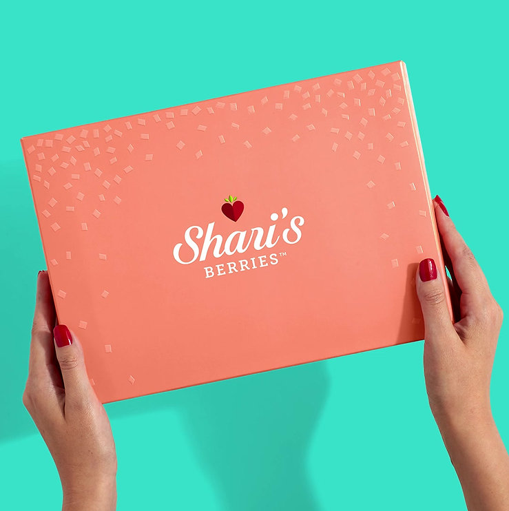 Overview of Shari's Gourmet Packaging Re0brand