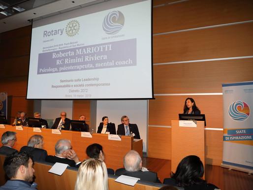 Responsabilità e società contemporanea. Storie di donne e giovani, leadership e Rotary