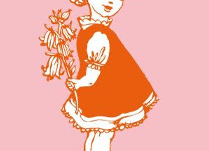 ♡ Postkarte Mädchen