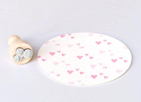 ♡ Stempel Herzkonfetti von Perlenfischer