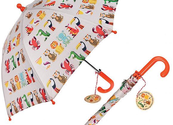 ♡ Regenschirm Colourful Creatures von REX London