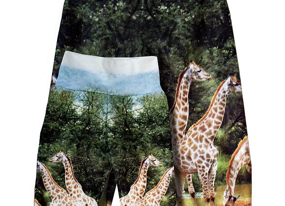 Fleecehose Giraffe 62/68