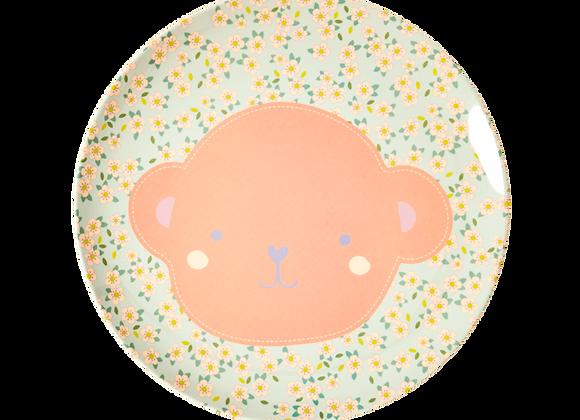 ♡ Kinderteller Affe von Rice