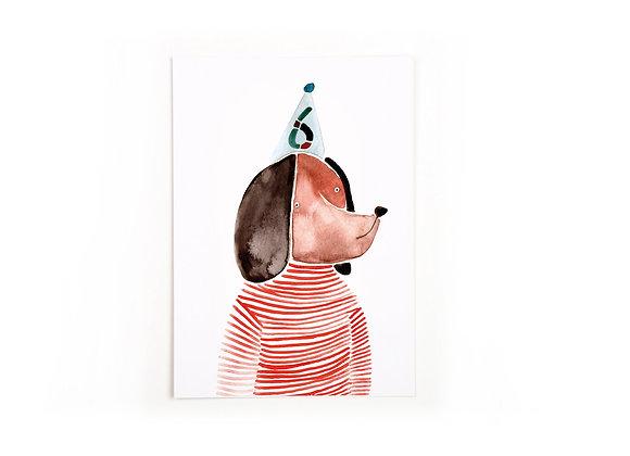 ♡ Postkarte Sechs von Gretas Schwester