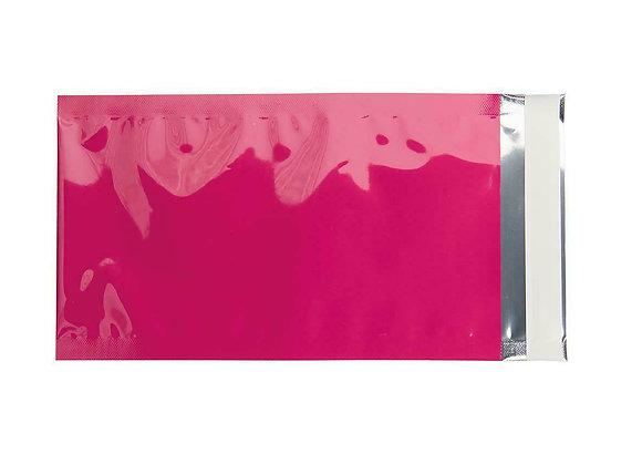 Metallische Versandtasche DL pink