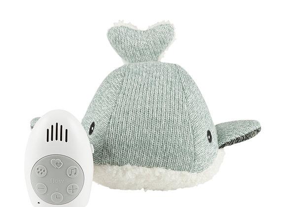 Moby der Wal (grün) Heartbeat Soft Toy, Spieluhr