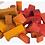 Thumbnail: ♡ Bauklötze 100 Stück im Beutel von Wooden Story