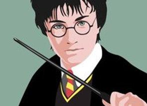 ♡ Postkarte Harry Potter