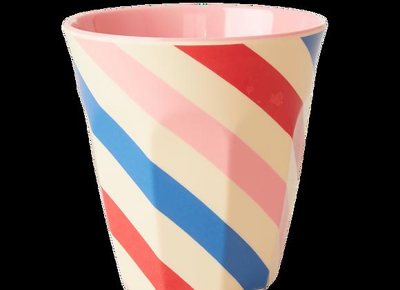 ♡ Becher Candy Stripes von Rice