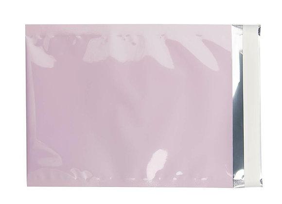 Metallische Versandtasche C5 rosa