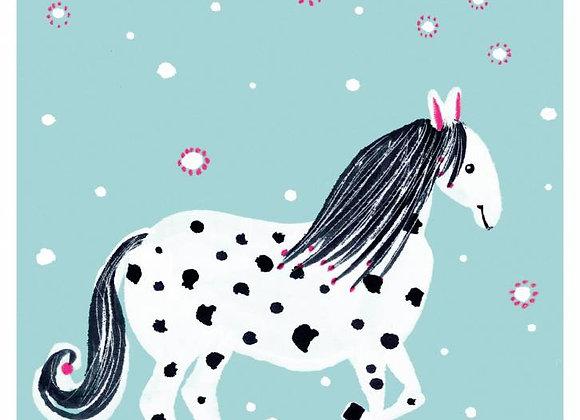 ♡ Postkarte Pferd