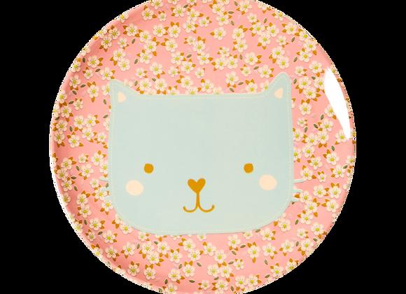 ♡ Kinderteller Katze von Rice
