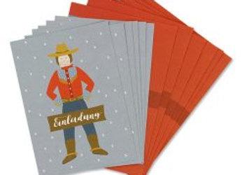 ♡ Einladungsset Cowboy von Ava&Yves