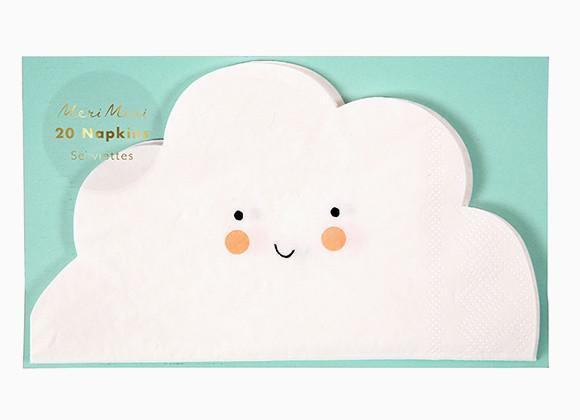 Meri Meri Servietten Wolke