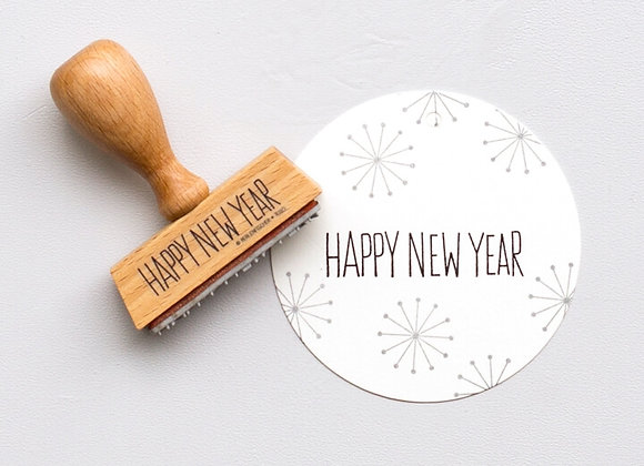 ♡ Stempel Happy New Year von Perlenfischer