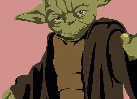 ♡ Postkarte Jedi