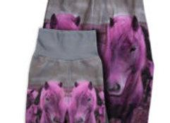 Fleecehose Pink Pony 86/92