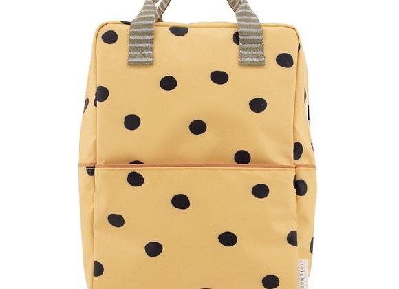 ♡ Rucksack gelb mit schwarzen Punkten von Sticky Lemon