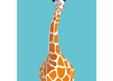 ♡ Notizheft A6 Giraffe
