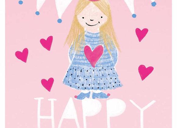 ♡ Postkarte Happy Birthday Girl