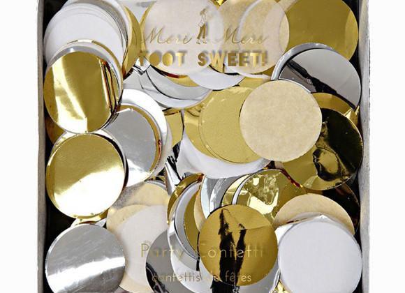 Meri Meri Konfetti Metallic Gold