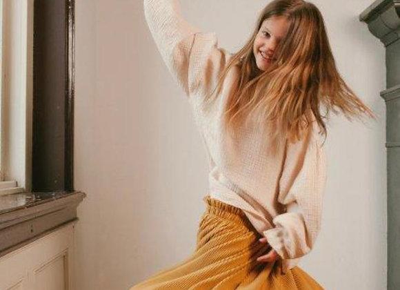 Nova Paperback skirt yellow von Daily Brat