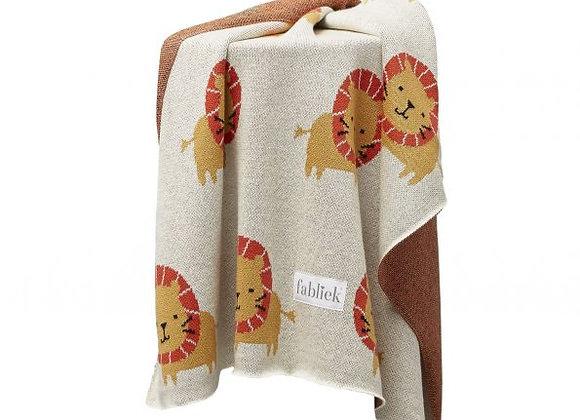 ♡ Decke Löwe von Fabliek 80x100