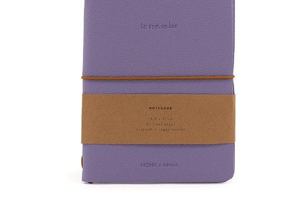 ♡Notizbuch lilac von Monk&Anna