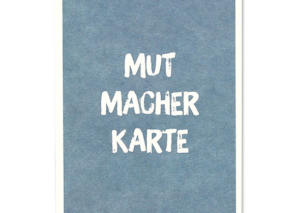 ♡ Postkarte Mutmacher von Ava&Yves