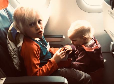 Fernflüge mit Kleinkindern