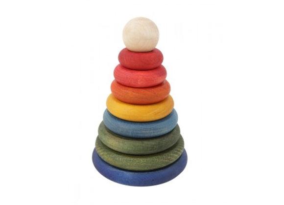 ♡ Stapelturm Rainbow von Wooden Story