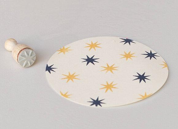 ♡ Stempel Stern mini von Perlenfischer