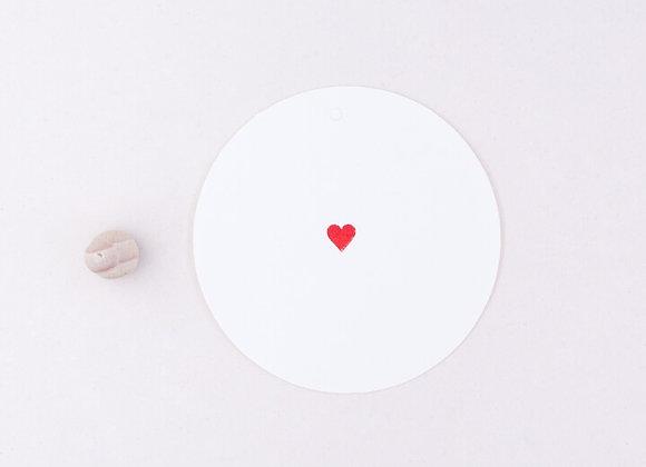 ♡ Stempel Herz mini von Perlenfischer