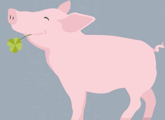 ♡ Notizheft A6 Schwein