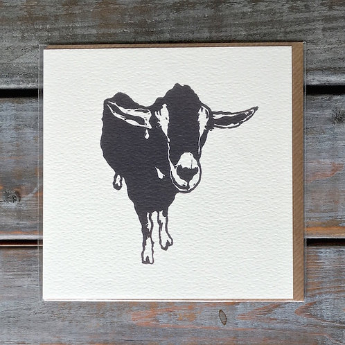'Billy the Goat' Card