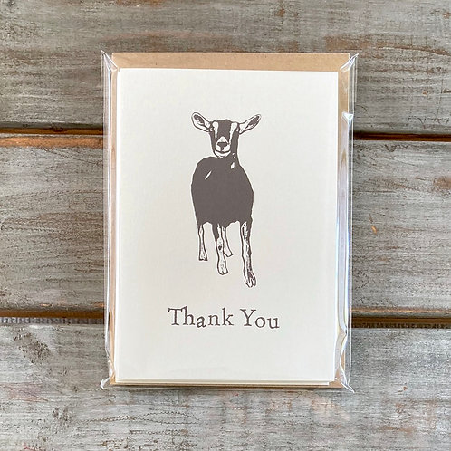 'Gunther the Goat' Thank You Card Set