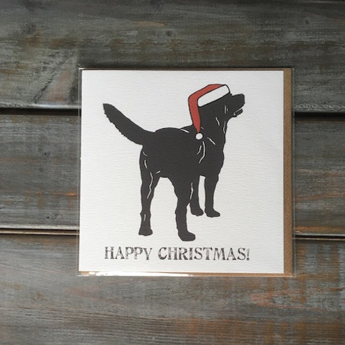 Ben the Labrador Christmas Card