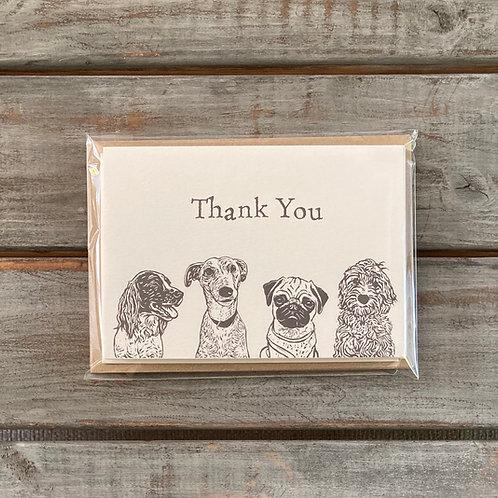 'Four Amigos' Card Set