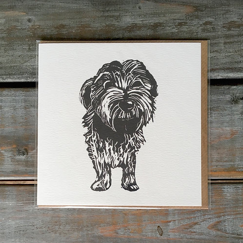 'Motley the Terrier' Card