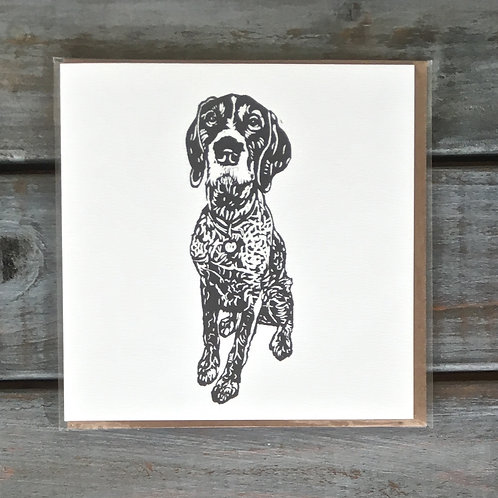Hector the Pointer Card
