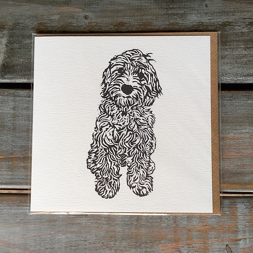'Coco the Cockapoo/ Labradoodle' Card