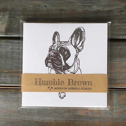 'Hugo the French Bulldog' Card Set