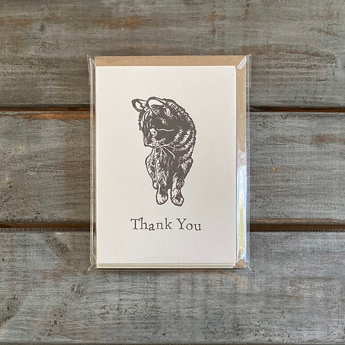 'Tilly the Cat' Thank You Card Set
