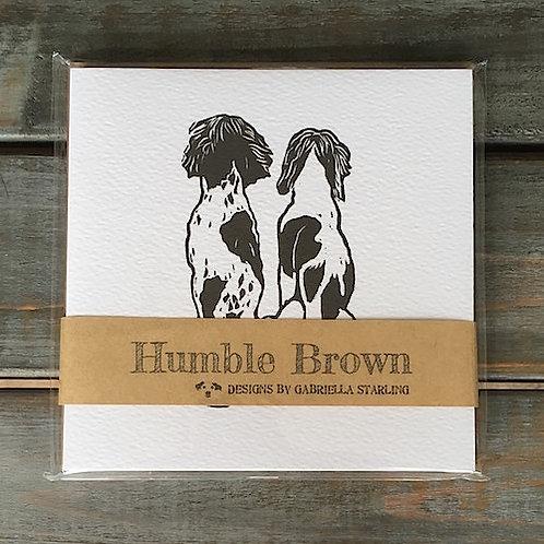 'Spaniels' Card Set