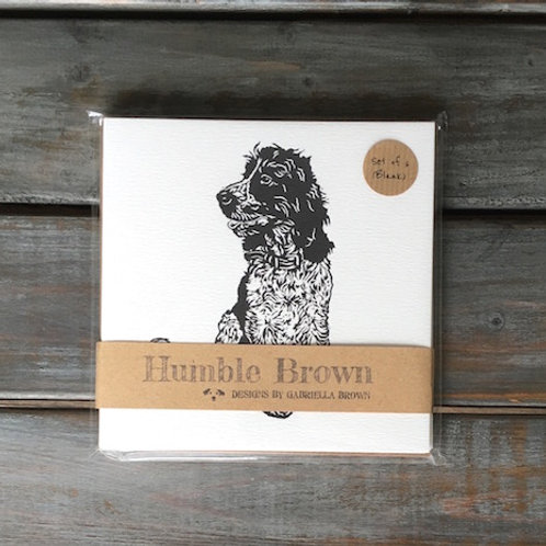 'Rigby the Cocker Spaniel' Card Set