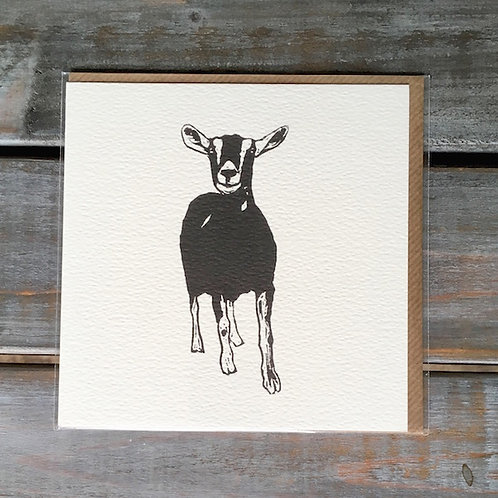 'Gunther the Goat' Card