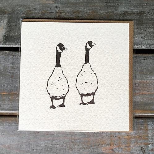 'Geese' Card