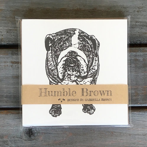 Arthur the English Bulldog Card Set