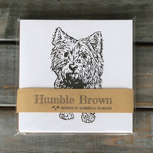 'Betty the Westie / Cairn Terrier' Card Set