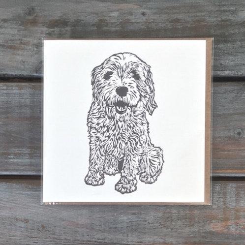 Woody the Tibetan Terrier Card Set